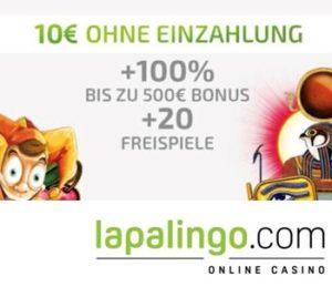 Lapalingo Neu Deutsche Casinos 2020