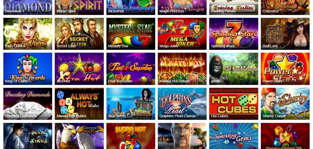 Novoline Online Casino List
